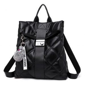 Tas Ransel Wanita Kulit Backpack Cewek Korea Import NY000024