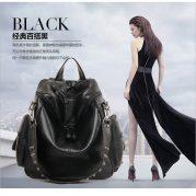 Tas Ransel Wanita Kulit Backpack Korea Import BB000051