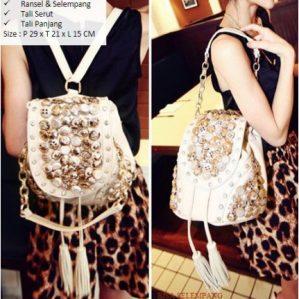Tas Ransel Wanita Backpack Cewek Korea SD000054
