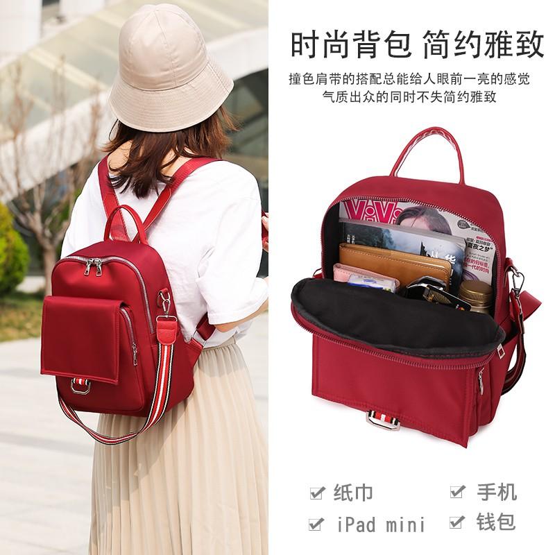 Tas Ransel Wanita Backpack Cewek Korea Import NY000036