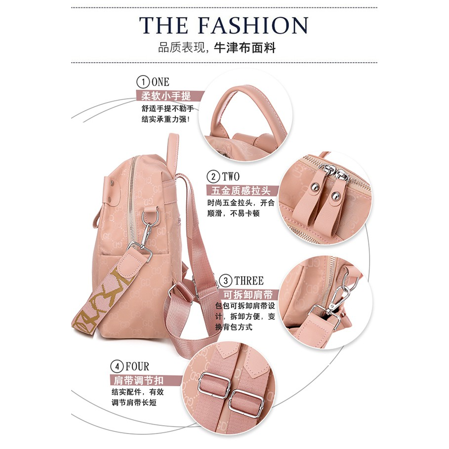 Tas Ransel Wanita Backpack Cewek Korea NY000046