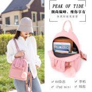 Tas Ransel Wanita Backpack Cewek Korea NY00050