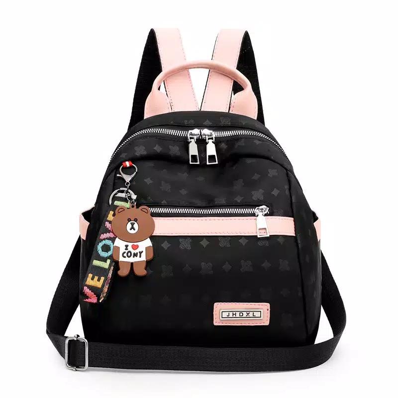 Tas Ransel Wanita Backpack Cewek Boneka We Love
