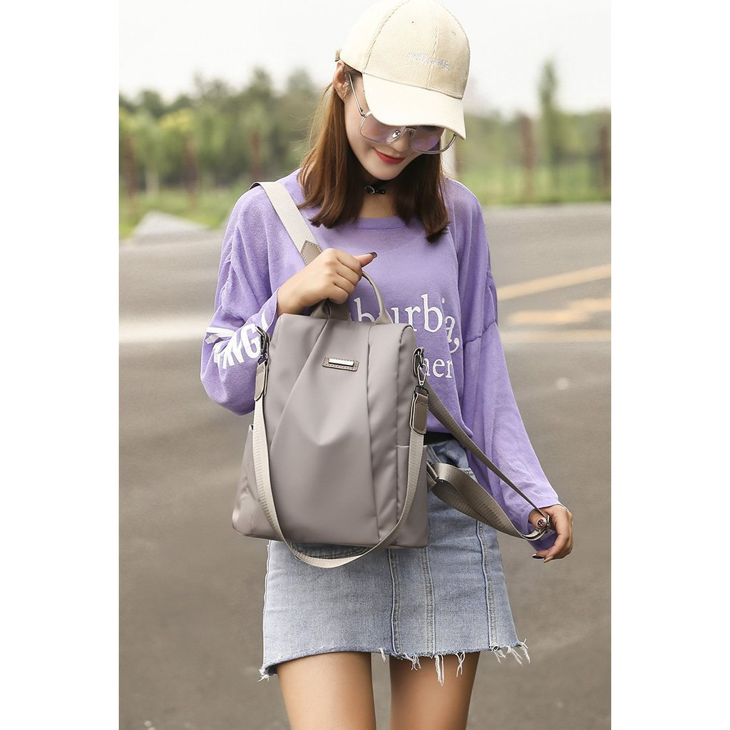 Tas Ransel Wanita Backpack Cewek Import Korea Luxury