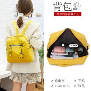 Tas Ransel Wanita Backpack Cewek Import Korea NY000011